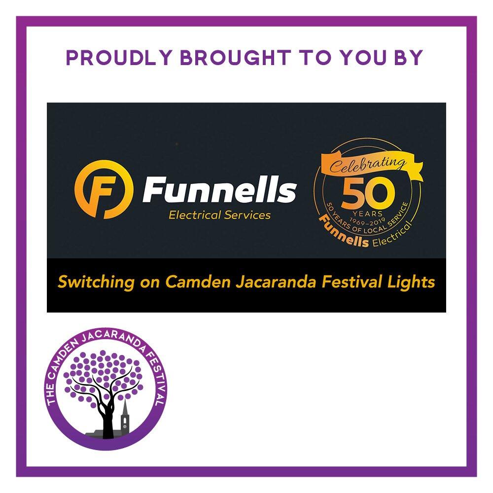 Sponsor Camden Jacaranda Festival Funnell's Electrical Services