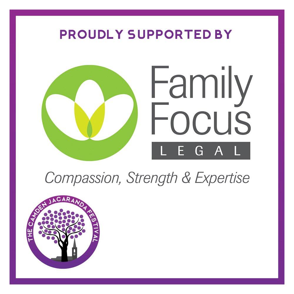 2019 Camden Jacaranda Festival Sponsor Family Focus Legal